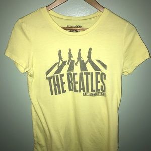 Women's medium Abby Road Beatles shirt